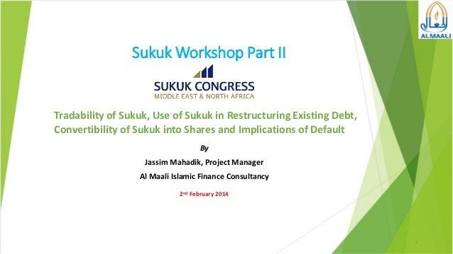 Pre conference---sukuk-workshop-part-ii
