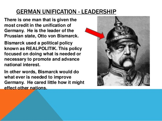 How did Bismarck manage to unite very different interest groups into a unified Germany?
