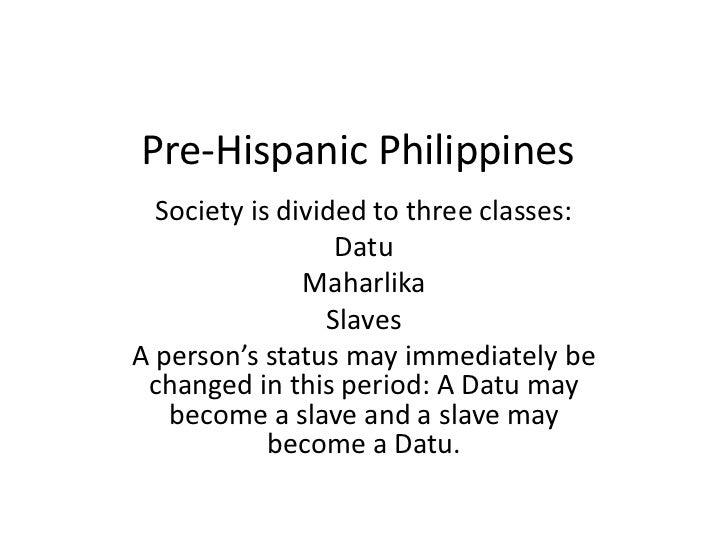 Pre hispanic philippines