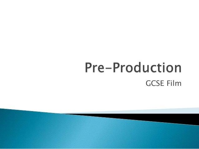 GCSE Film