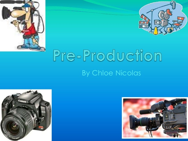 Pre production powerpoint