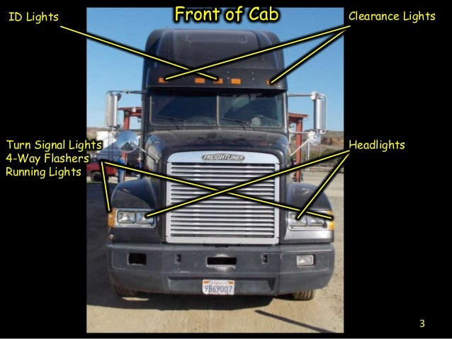 cdl engine compartment diagram cdl pre inspection