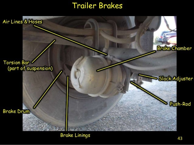 diagram of semi truck parts for cdl test  diagram  get