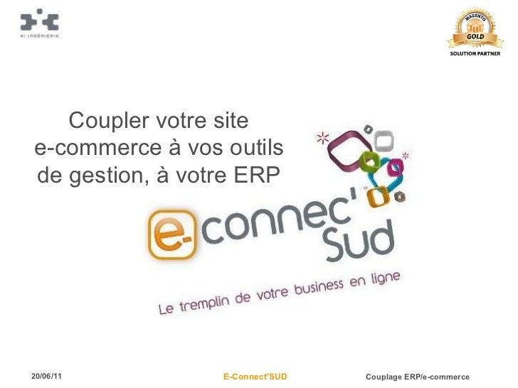 Coupler votre site e-commerce à vos outils de gestion, à votre ERP