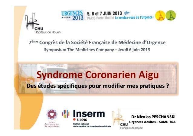 CHU_ Hôpitaux de Rouen - page 1Des études spécifiques pour modifier mes pratiques ?Des études spécifiques pour modifier me...