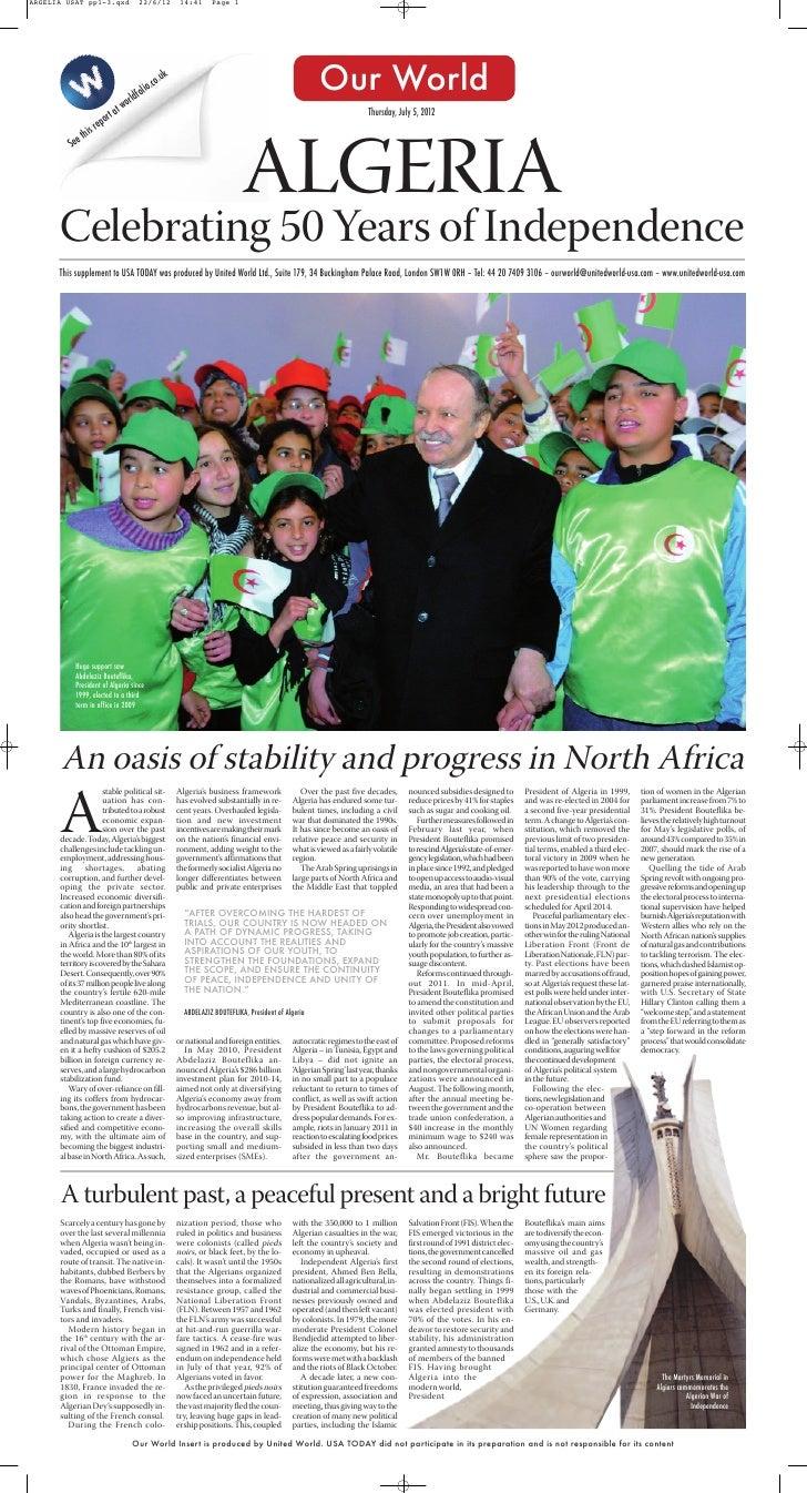 Algeria PR1 2012