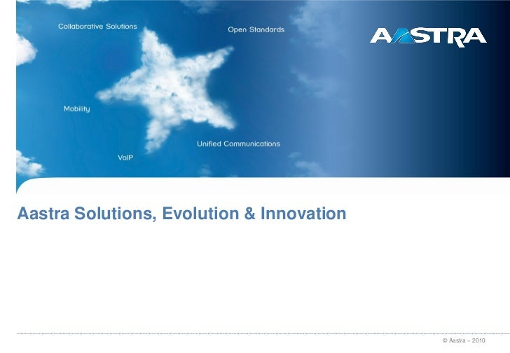 Aastra - Unified Communications