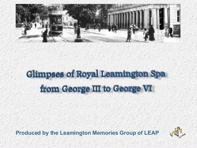 Leamington Spa pre-1939
