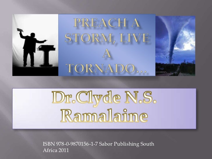 ISBN 978-0-9870156-1-7 Sabor Publishing SouthAfrica 2011
