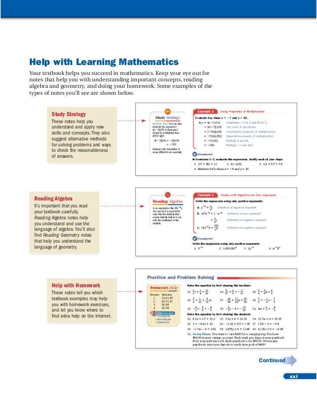 Help Math Homework