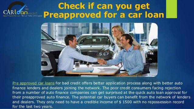 Car Loans For Less Than Perfect Credit