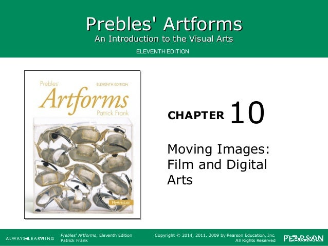Prebles' Artforms: An Introduction to the Visual Arts, 8th Edition by Frank, Pa