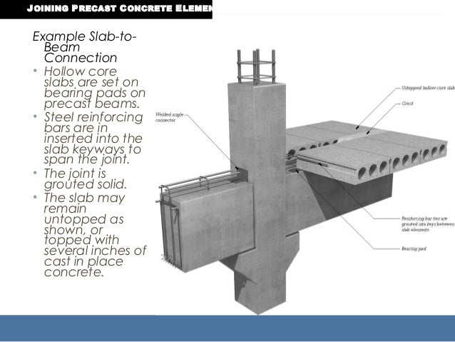 Cast In Place Concrete Slabs : Precast construction