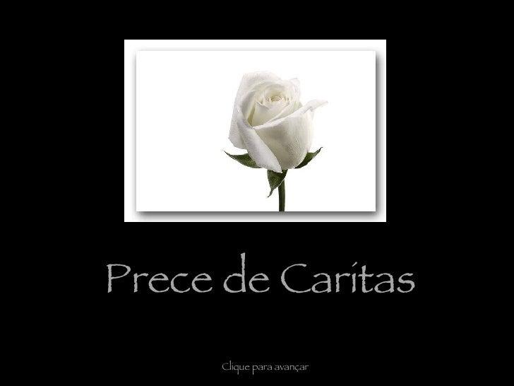 Prece De Caritas