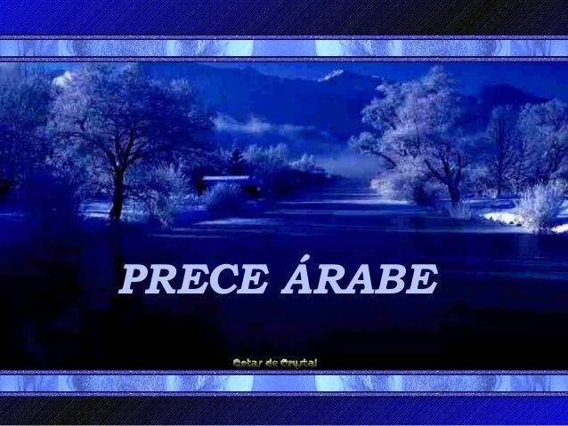 PRECE ÁRABE