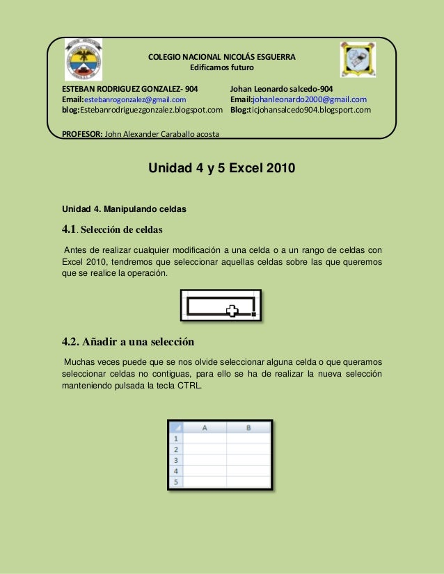 COLEGIO NACIONAL NICOLÁS ESGUERRA Edificamos futuro ESTEBAN RODRIGUEZ GONZALEZ- 904 Johan Leonardo salcedo-904 Email:esteb...