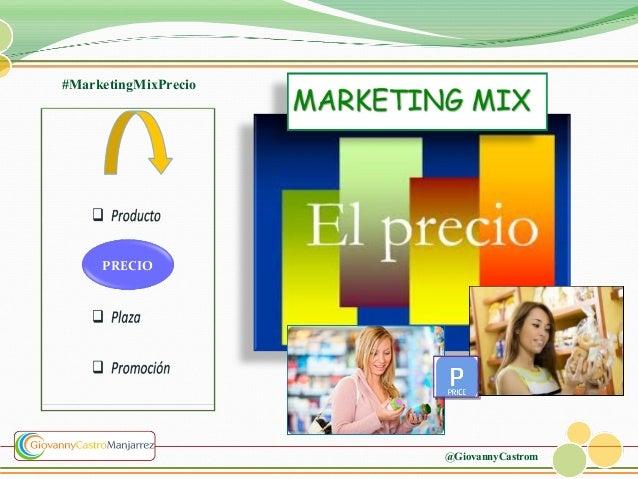 #MarketingMixPrecio  PRECIO  @GiovannyCastrom