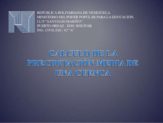 """REPÚBLICA BOLIVARIANA DE VENEZUELAMINISTERIO DEL PODER POPULAR PARA LA EDUCACIÓN.I.U.P """"SANTIAGO MARIÑO"""".PUERTO ORDAZ - ED..."""