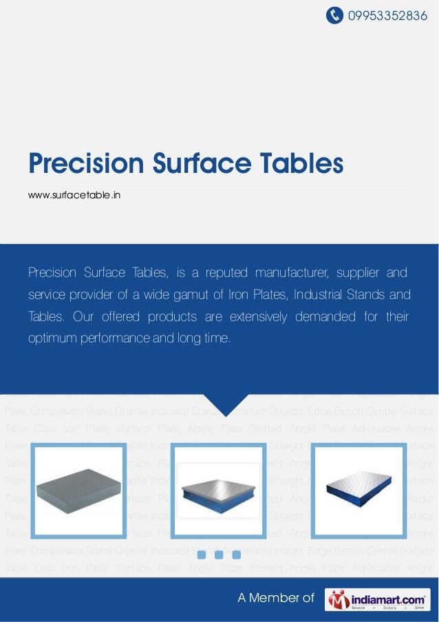 Precision surface-tables