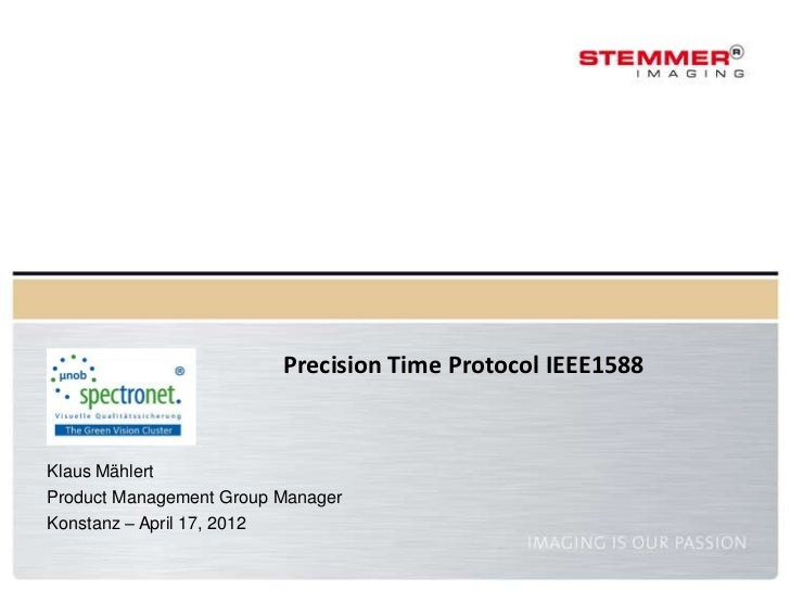 Precision Time Protocol IEEE 1588