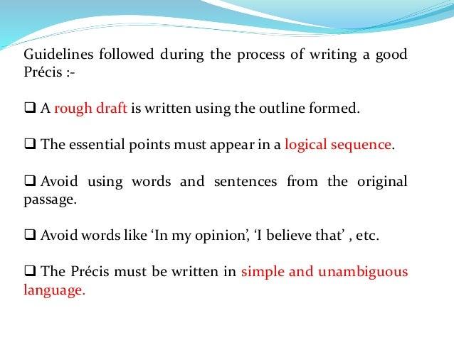 Essay And Precis Writing For Acio
