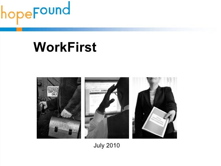 WorkFirst July 2010