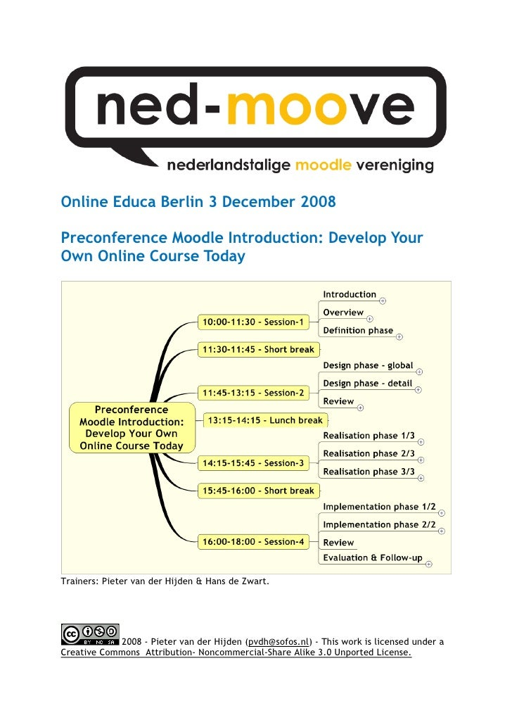 Moodle Introduction - Develop Your Own Online Course Today.