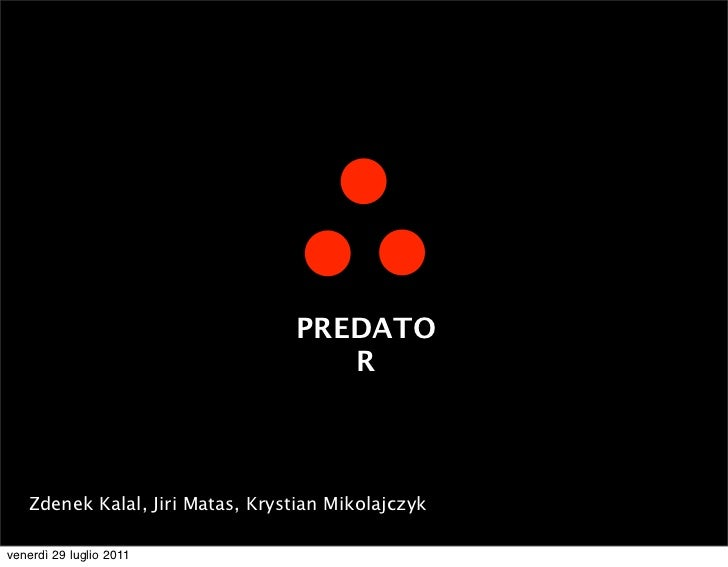 Predator, a software that learns from its mistakes - Zdenek Kalal