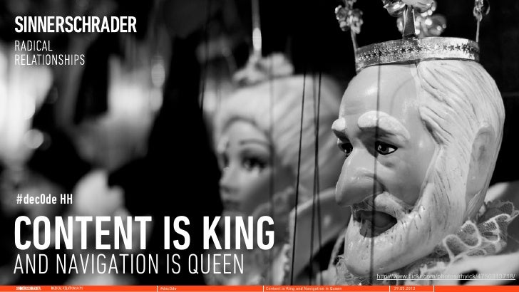 #dec0de HHCONTENT ISQUEEN   KINGAND NAVIGATION IS                                                http://www.flickr.com/pho...