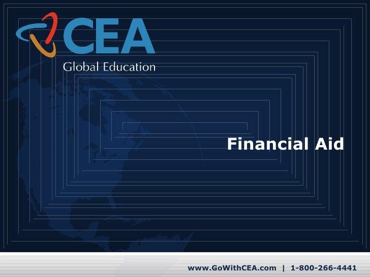Pre-Departure Financial Aid Tutorial