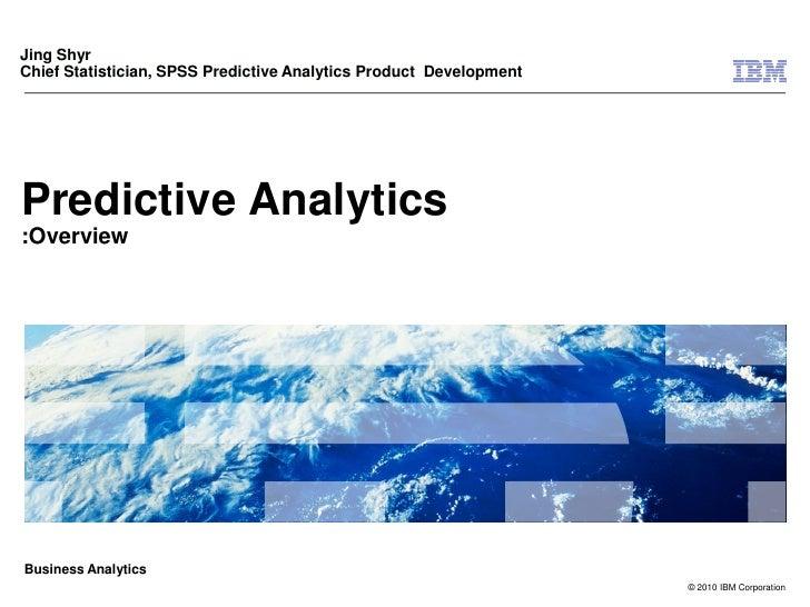 Predictive analytics km chicago