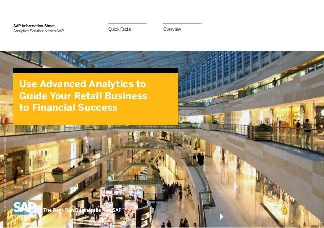 Predictive Finance InfoGuide for Retail Companies
