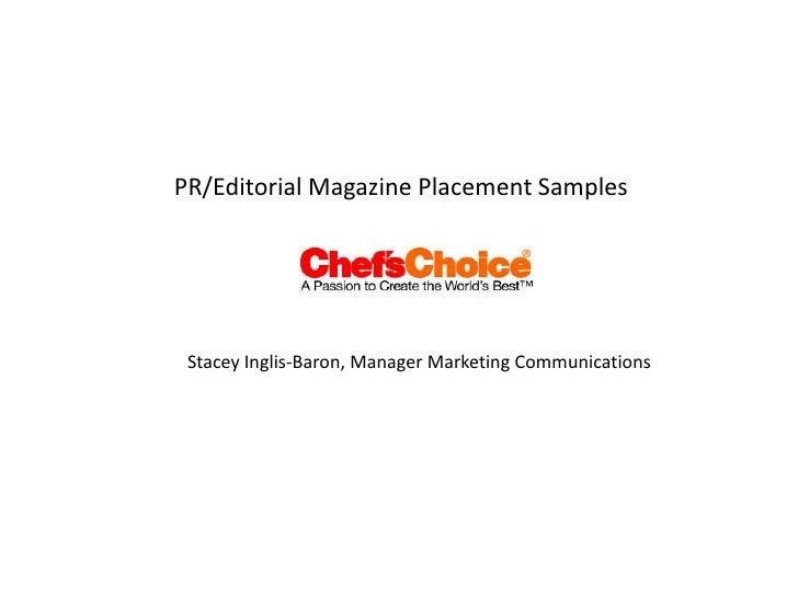 Pr Editorial Chefs Choice