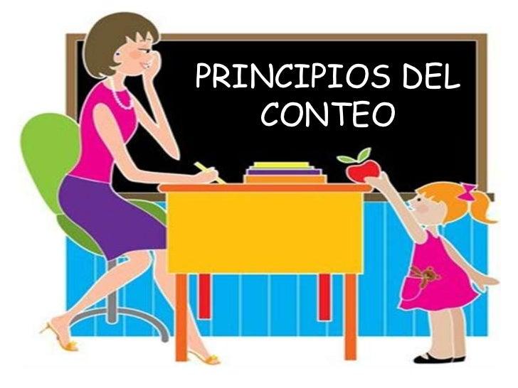 PRINCIPIOS DEL CONTEO<br />