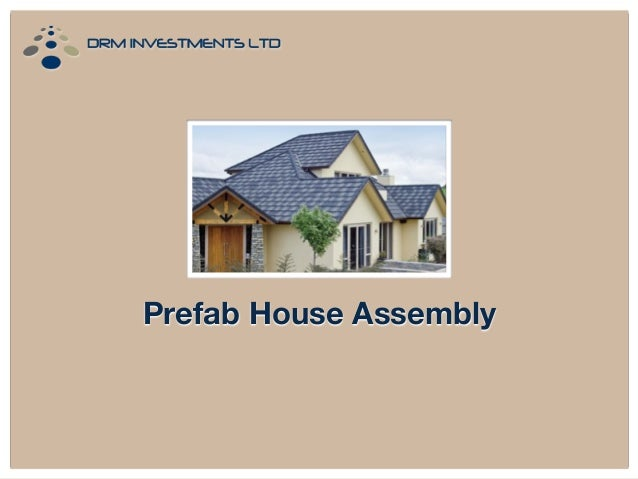 Prefab House Assembly