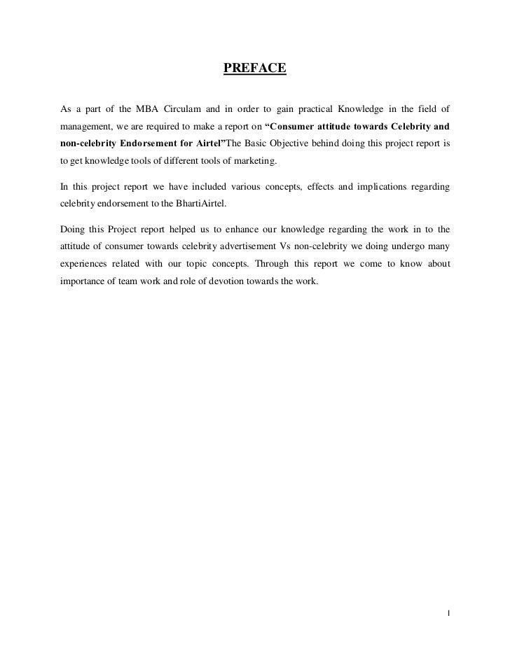 Thesis Preface