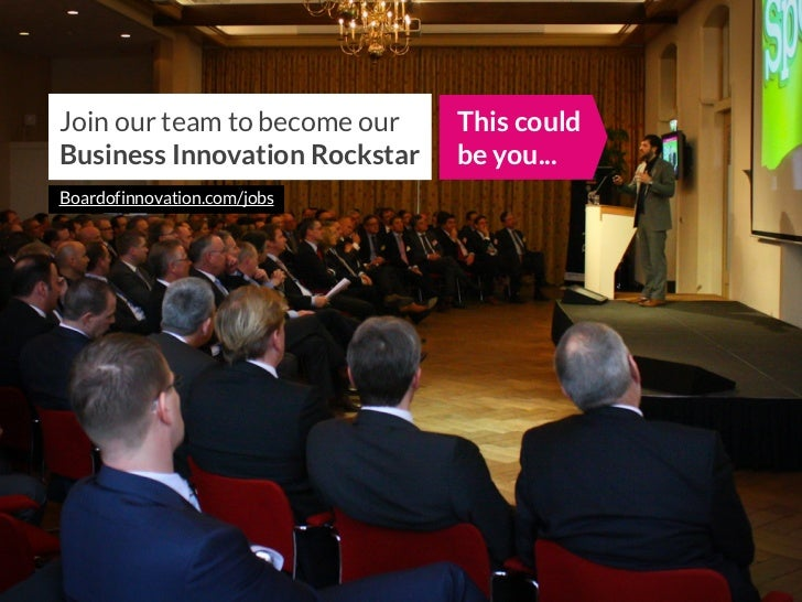 Join our Team at Board of Innovation? Amaze us! - @boardofinno