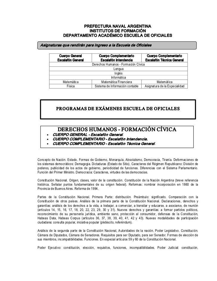 PREFECTURANAVALARGENTINA                              INSTITUTOSDEFORMACIÓN                     DEPARTAMENTOACADÉMI...