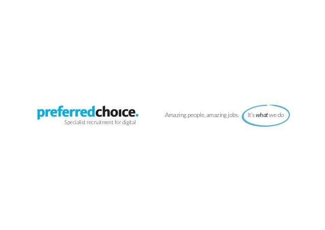 Preferred Choice brochure   Digital Recruitment Specialists