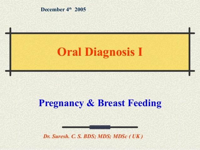 Pregnancy & breast feeding