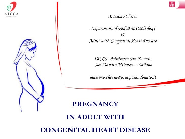 Massimo Chessa          Department of Pediatric Cardiology                          &          Adult with Congenital Heart...