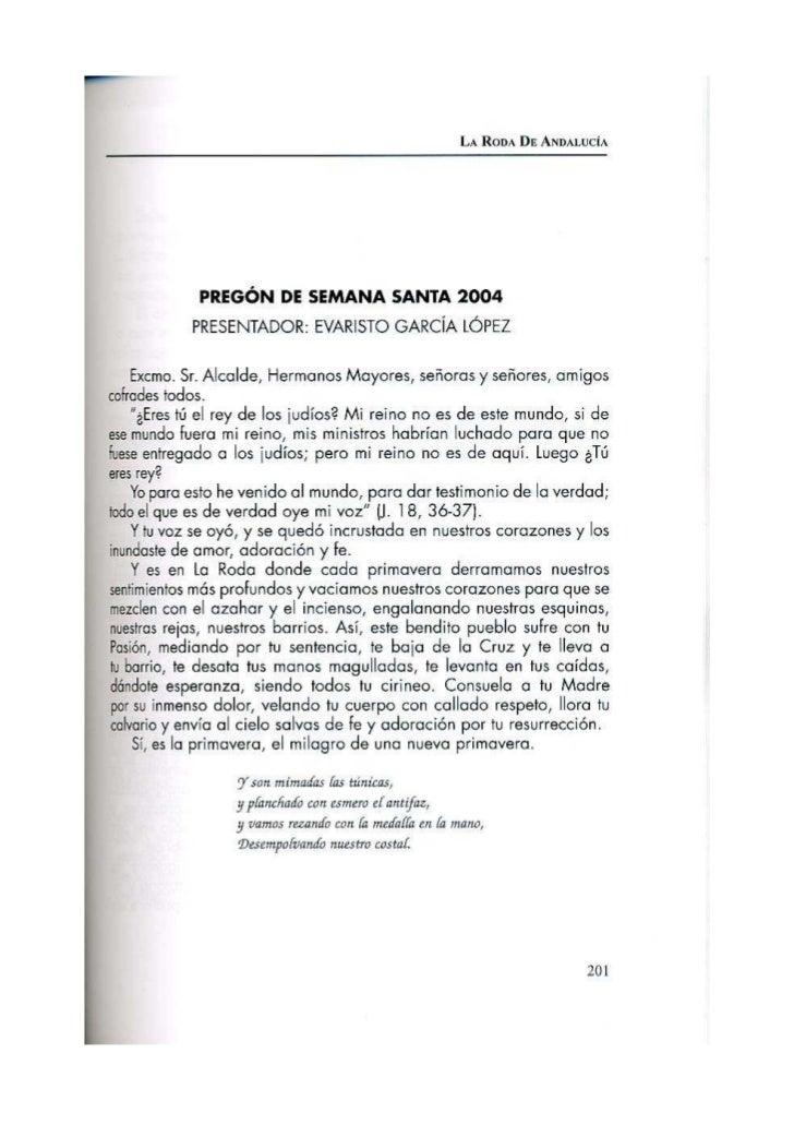 Pregón 2004 MARÍA DEL PILAR GARCÍA GARCÍA