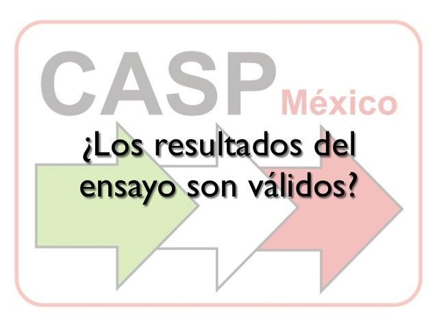 Preguntas CASP México Tratamiento