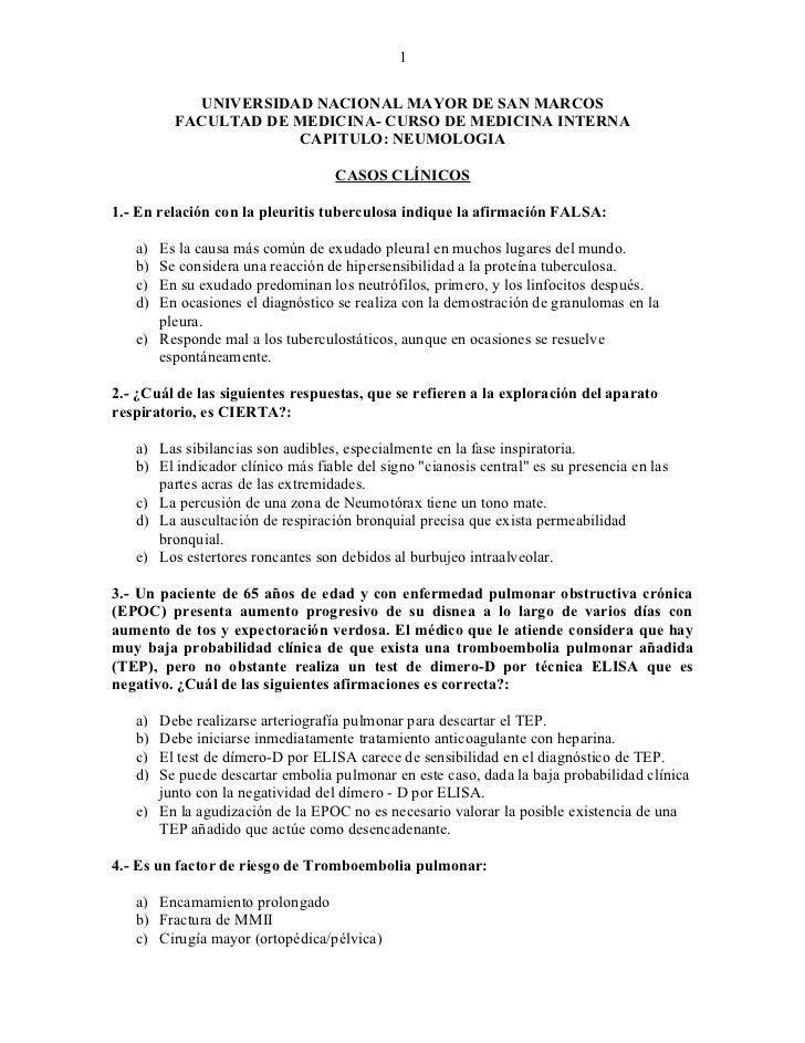 1           UNIVERSIDAD NACIONAL MAYOR DE SAN MARCOS         FACULTAD DE MEDICINA- CURSO DE MEDICINA INTERNA              ...