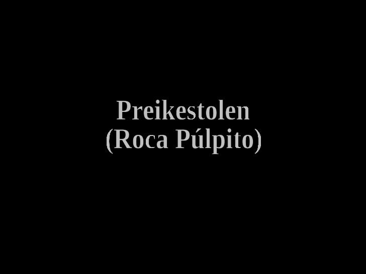 Preikestolen (Roca Púlpito)