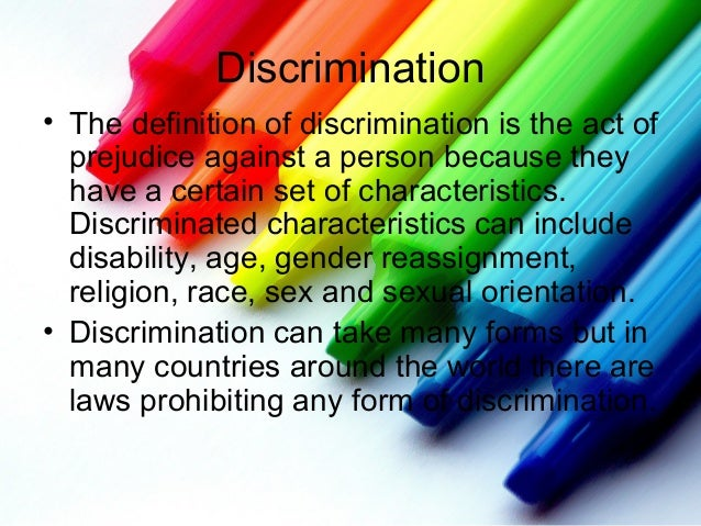 racial prejudice and discrimination essay Prejudice and discrimination essay - custom assignment writing help - we help students to get reliable essays, research papers, reviews and proposals with discounts.