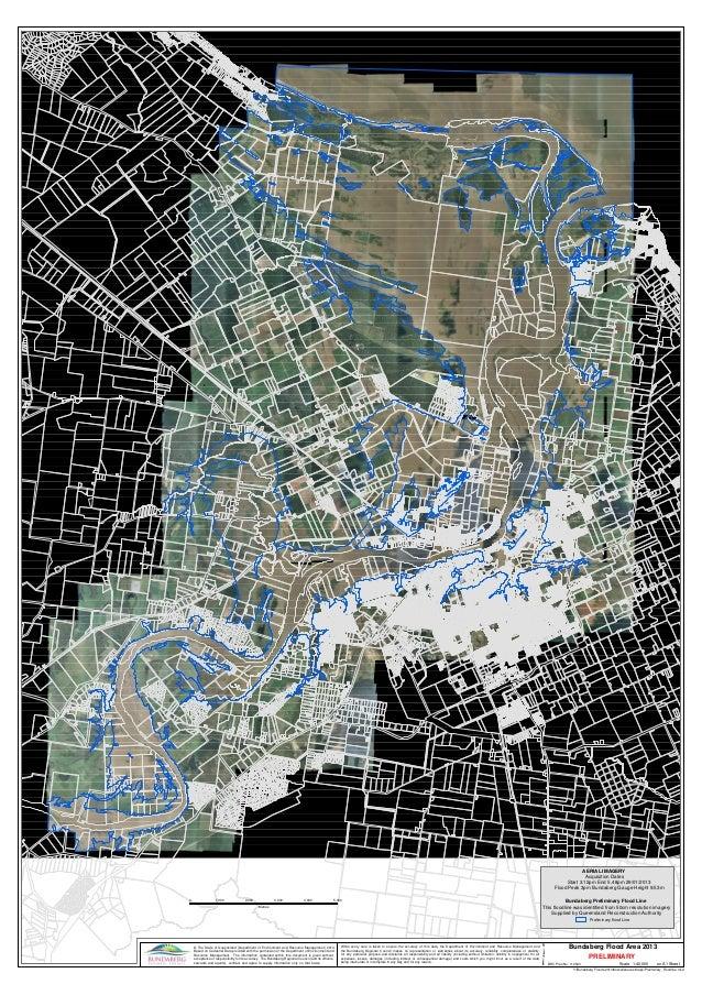 Preliminary Floodline Bundaberg