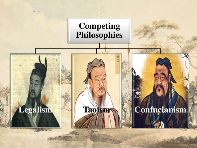 comparing and contrasting taoism and confucianism