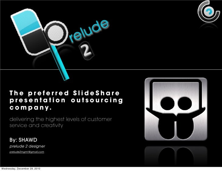 Prelude2 overview#01 Presentation Services