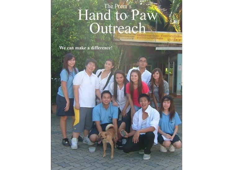 The Prem Hand to Paw Outreach